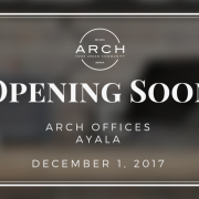 Arch Offices Set To Open New Office in Ayala, Makati