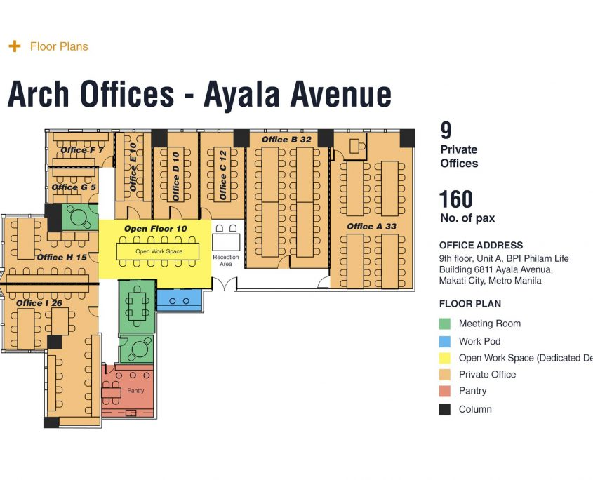 rent a serviced office space