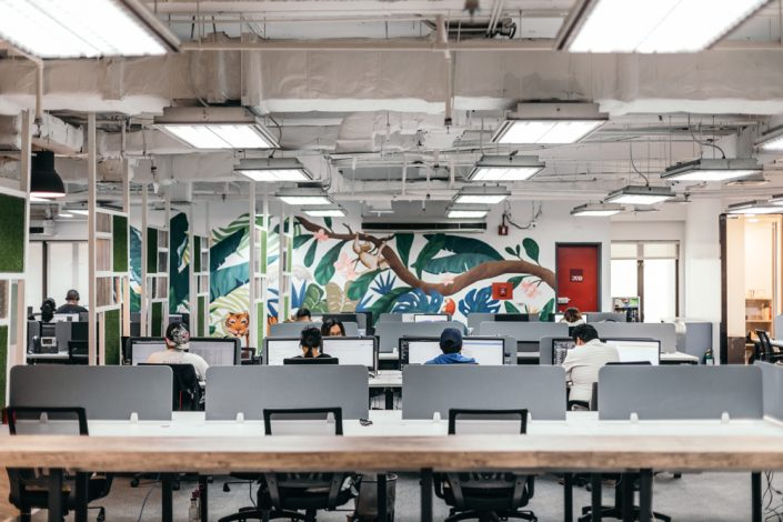 ARCH Offices - 15f Citibank - Open Workspace Area