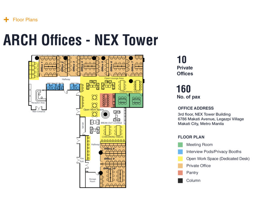 ARCH NEX Tower Floorplan