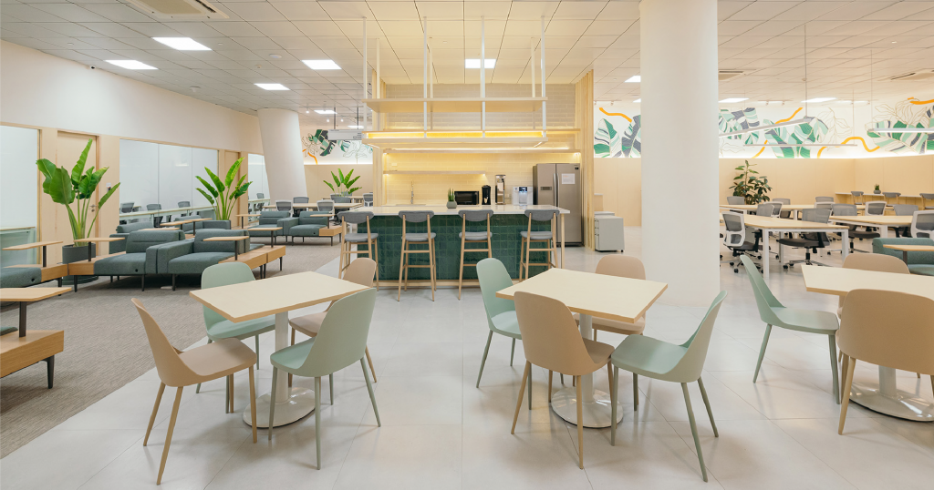 coworking space features